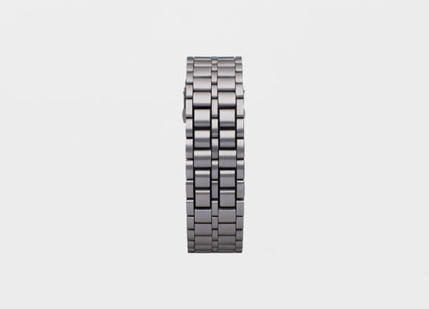 Faceless LED Watch - Hironau Tsuboi