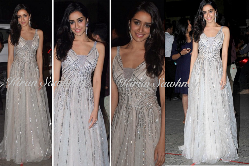 Shraddha Kapoor At Filmfare Awards 2015