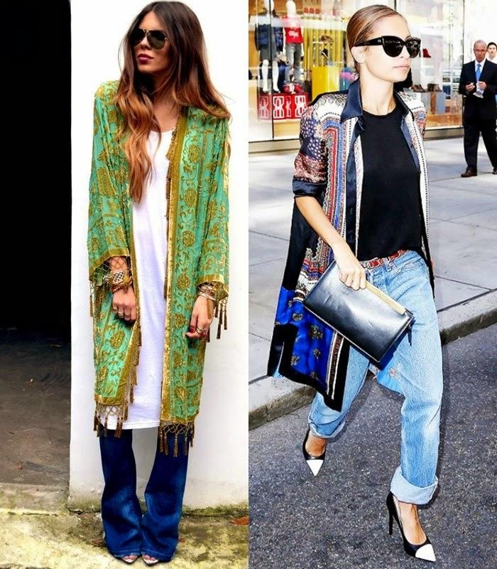 Quimono Kimono - primavera verão 2015 moda de rua street style
