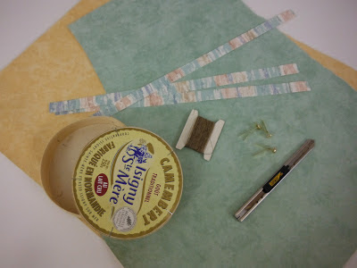 idée originale de séverine peugniez avec des matériaux de récupération