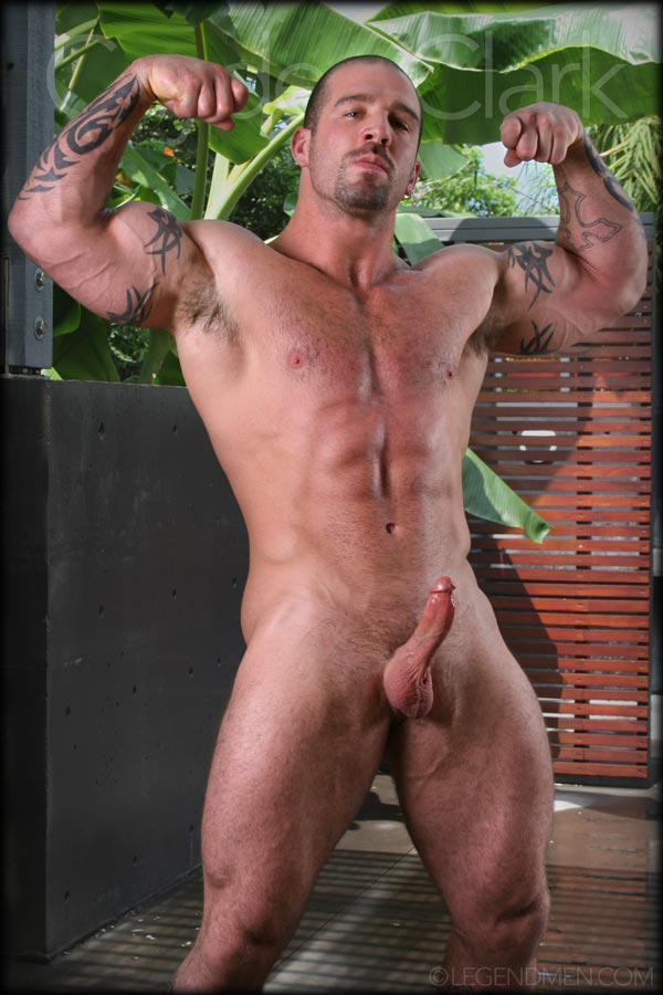 image Muscular stud cayden priar takes a piss before jerking off
