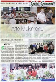 Arte Mukimono, un proyecto de amor