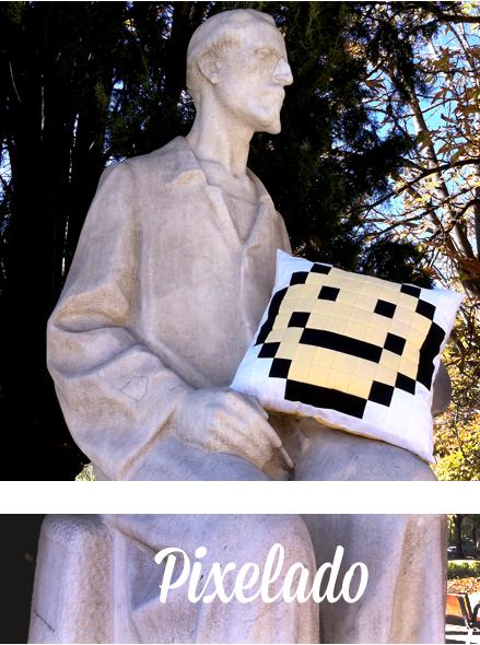 Monográfico de Patchwork Pixelado en Trapo y Tela