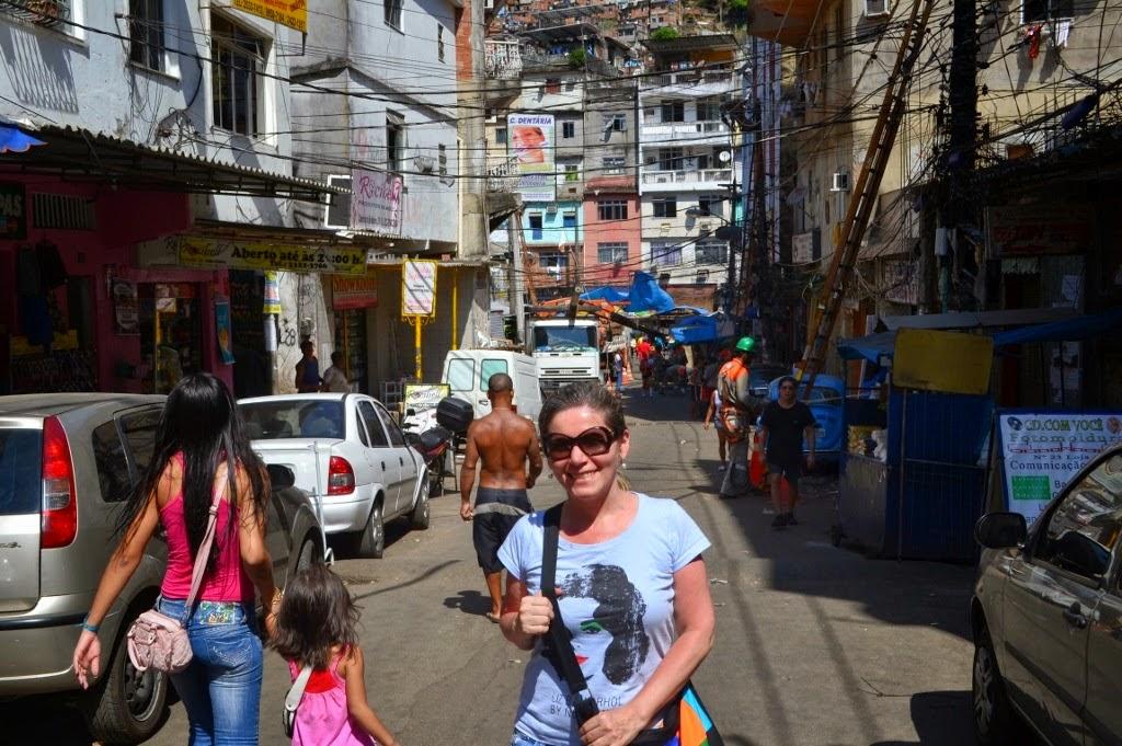 Fran na Rocinha, Rio de Janeiro