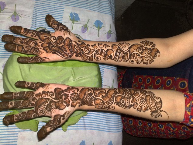 Mehndi Designs Karachi : New pakistani mehndi designs henna
