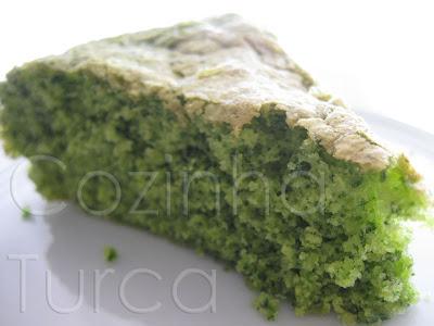 Bolo de Espinafres (Ispanaklı Kek)