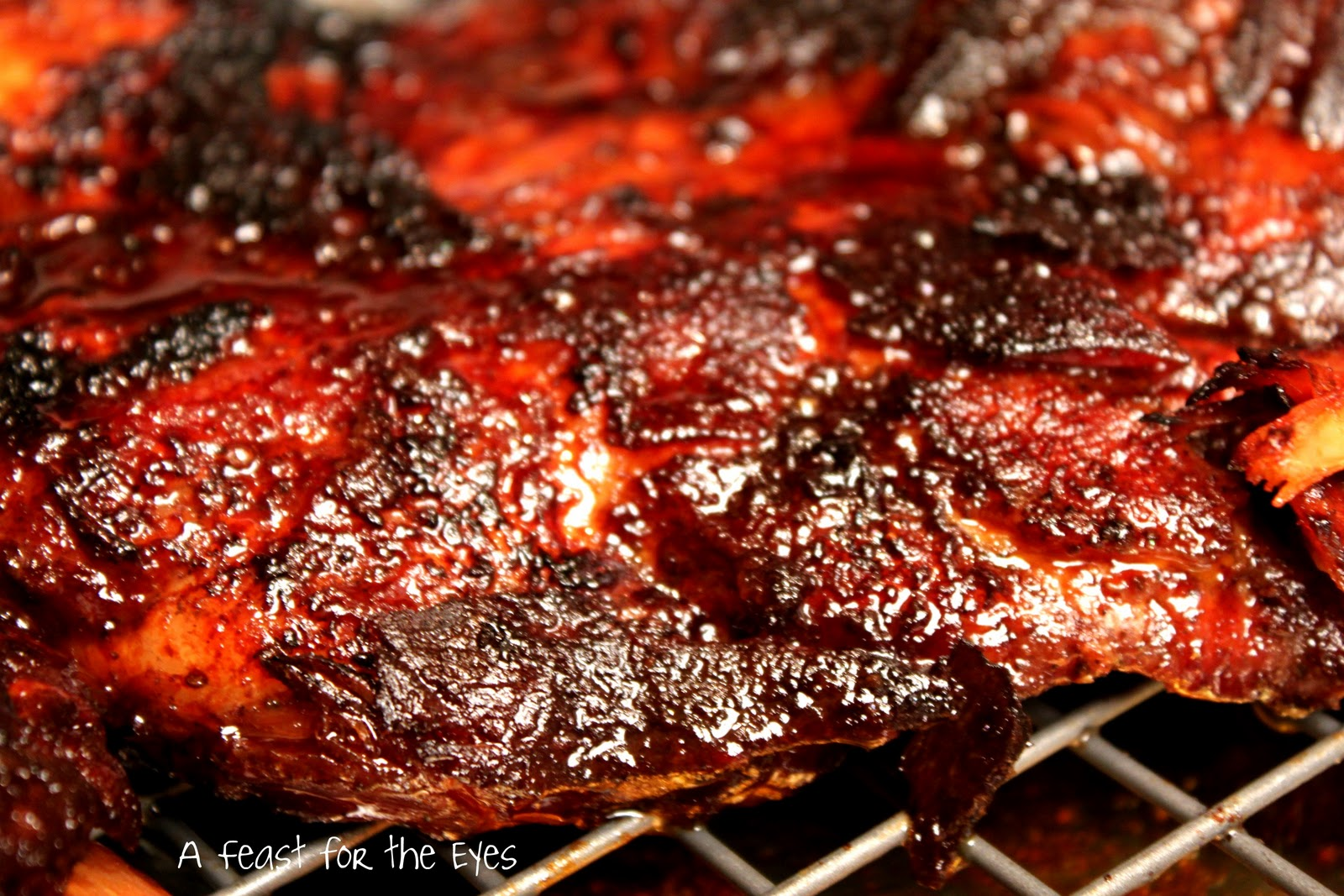 Southern BBQ Spare Ribs Recipe. How To Cook Bbq Pork Spare Ribs On The ...