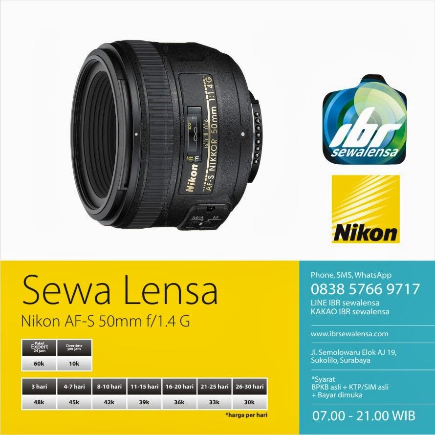 Nikon AFS 50mm f1.4 G