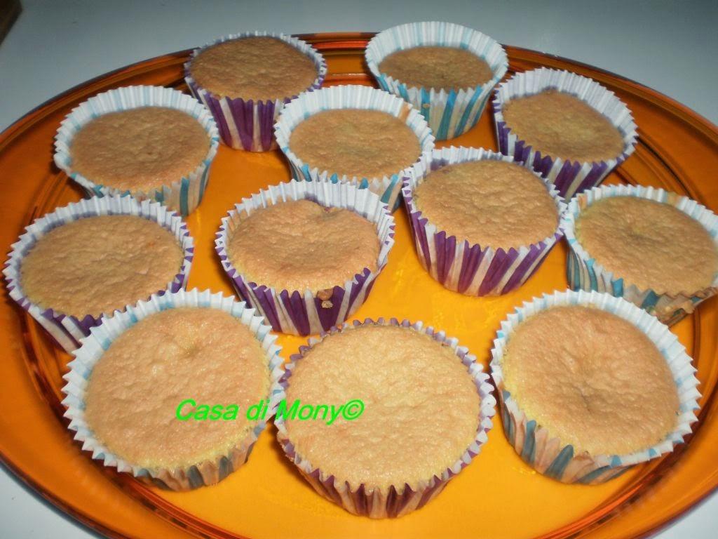 muffin con i lamponi