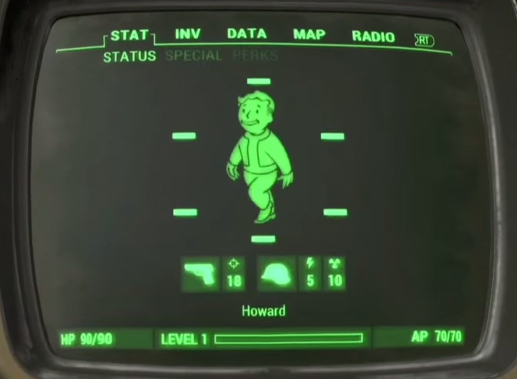 fallout 4 hit points
