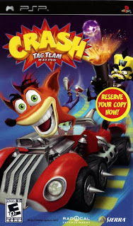 Free Download Games Crash Tag Team Racing PPPSSPP ISO Full Version ZGASPC