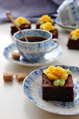 Pehmeä mausteinen suklaapala