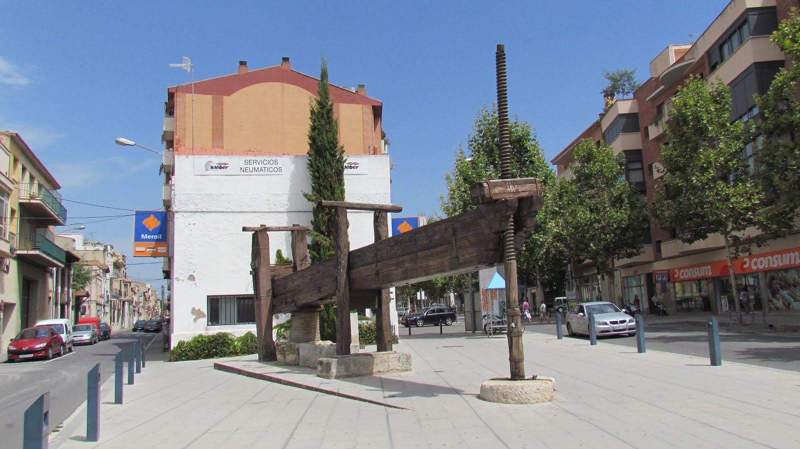 Tot son punts de vista la premsa de biga o de lliura de for Morato vilafranca