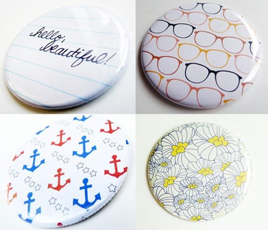 Detalles para invitados espejos de bolsillo a todo confetti blog de bodas y fiestas llenas - Espejos de bolsillo ...