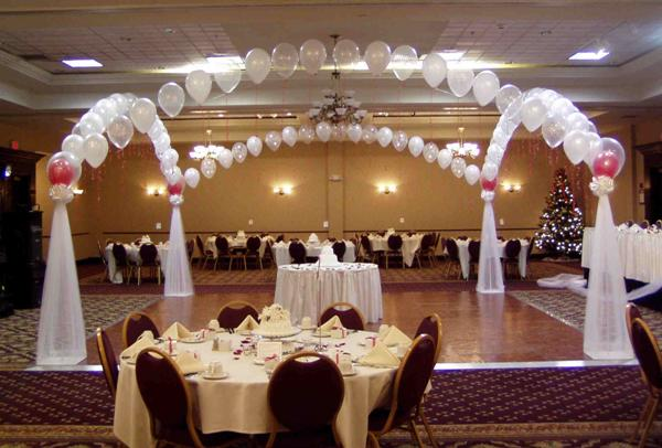 Balloon designs pictures balloon arches for weddings for Balloon decoration for weddings