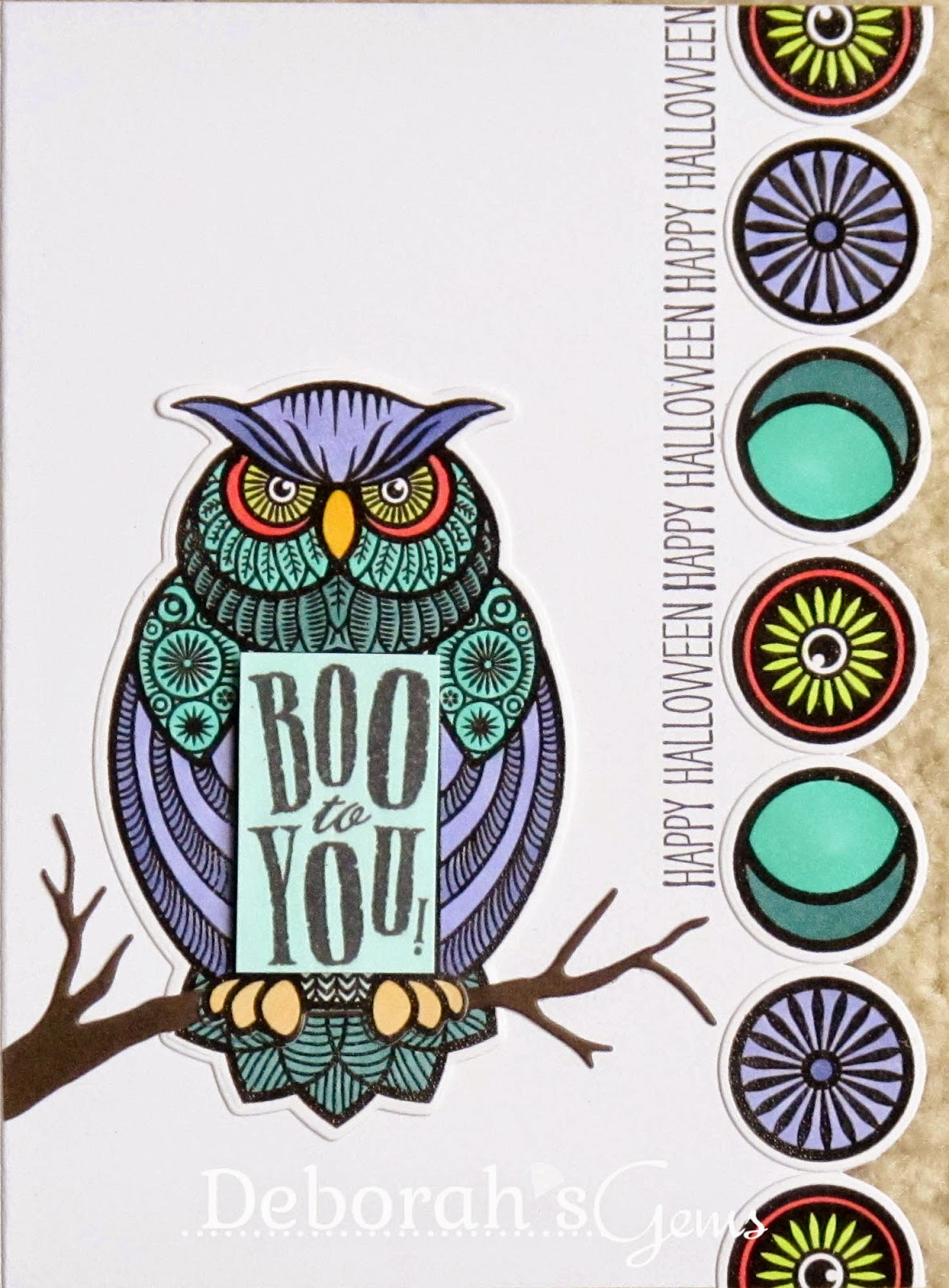 Big Owl detail - photo by Deborah Frings - Deborah's Gems