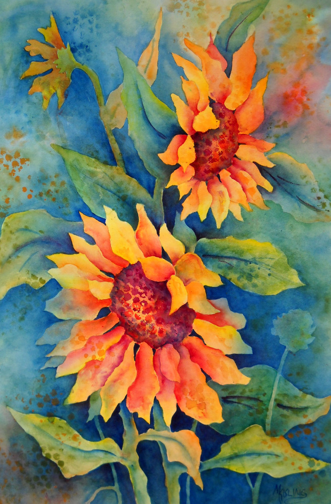 martha kisling art with heart   first painting to alaska