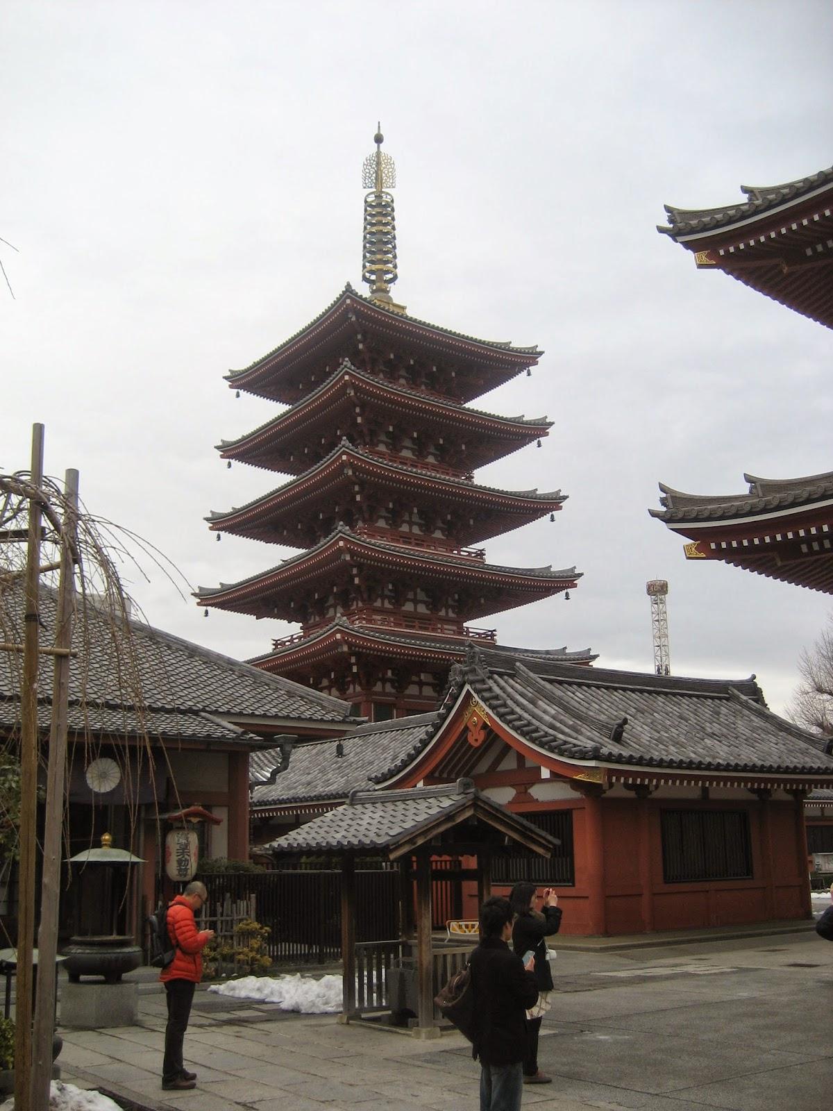 Nihongadas Jap N D A 4 Asakusa Tienda Ghibli Templo