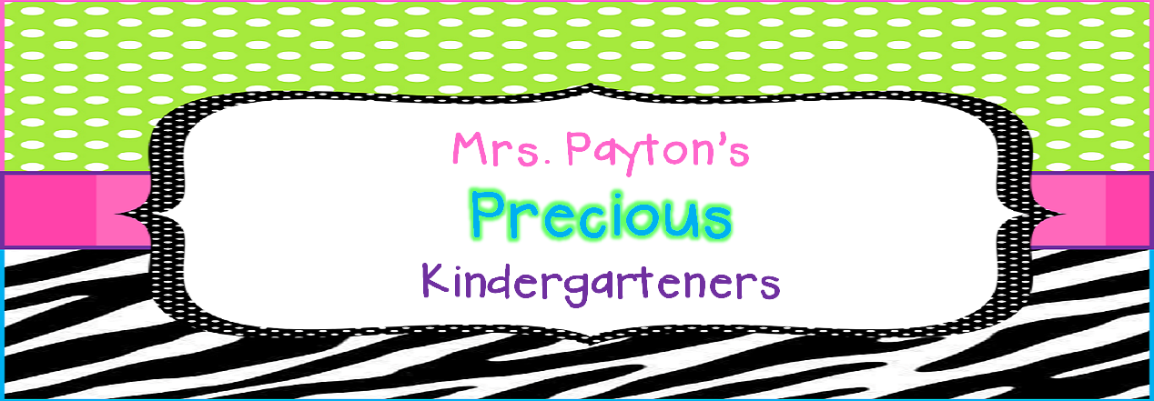 Mrs. Payton&#39;s Precious Kindergarteners