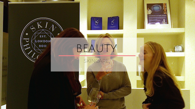 People laughing at beauty event