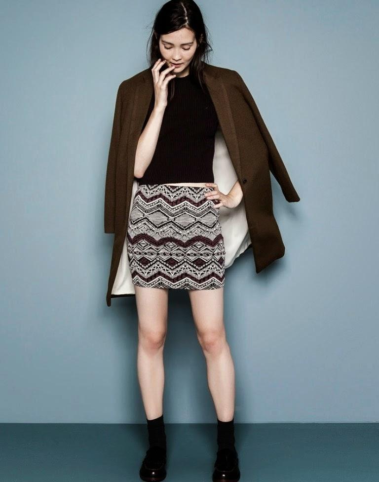 Minifaldas de invierno 2014-2015