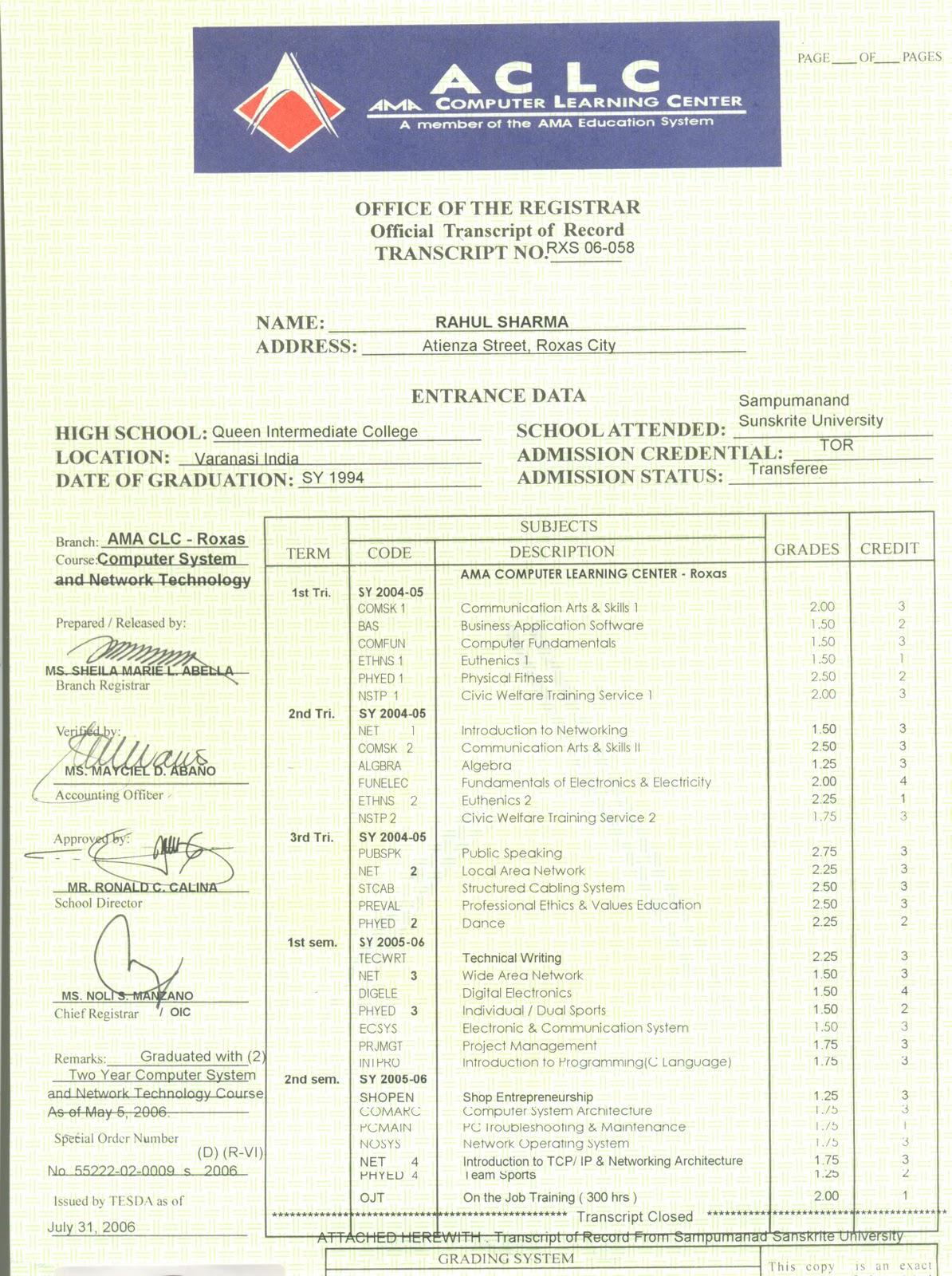 certificates  achievements