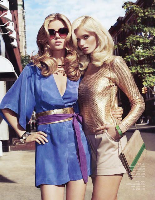Abbey Lee Kershaw & Josephine Skriver for H&M Spring 2012