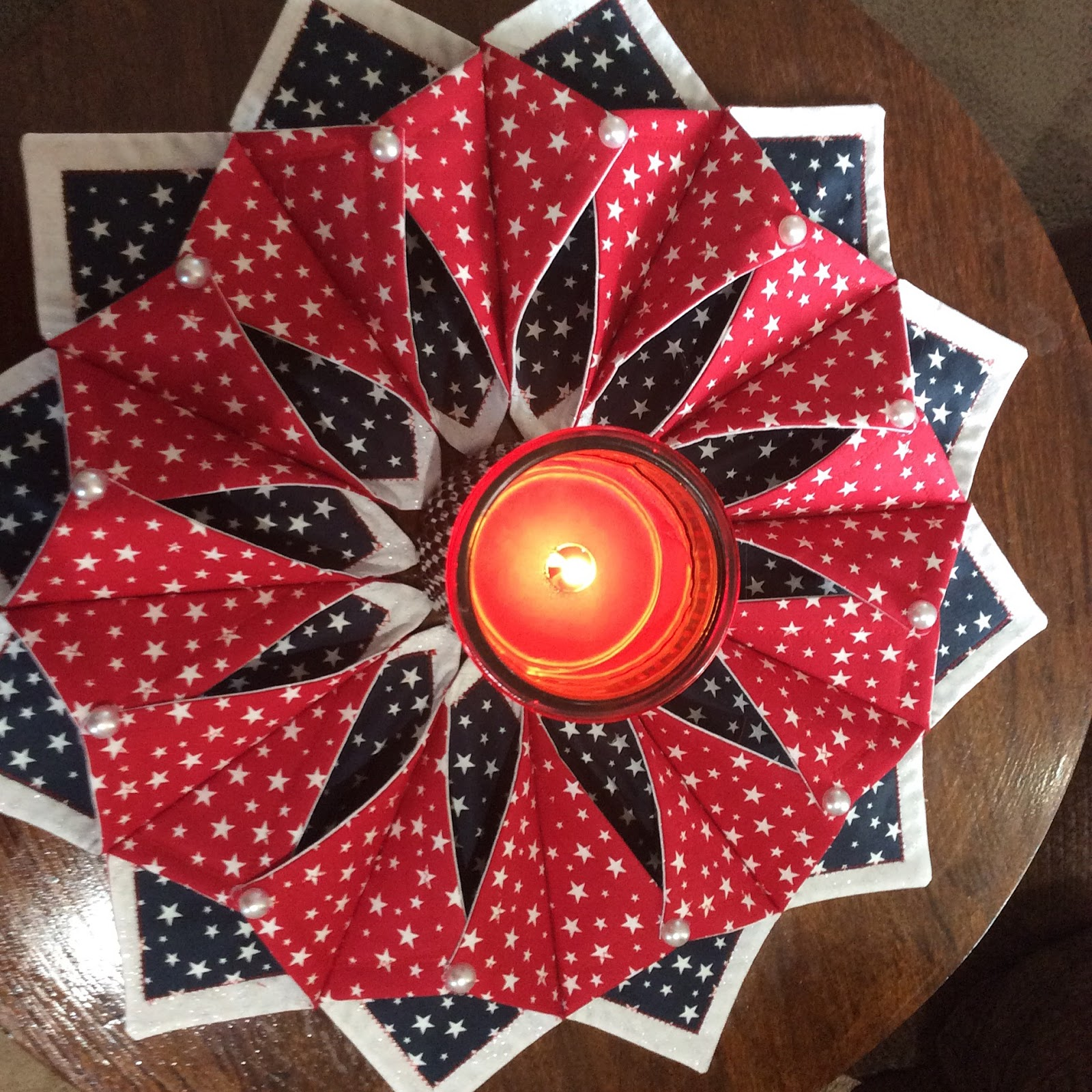 Quilting By Jeannie Another Fold N Stitch Wreath