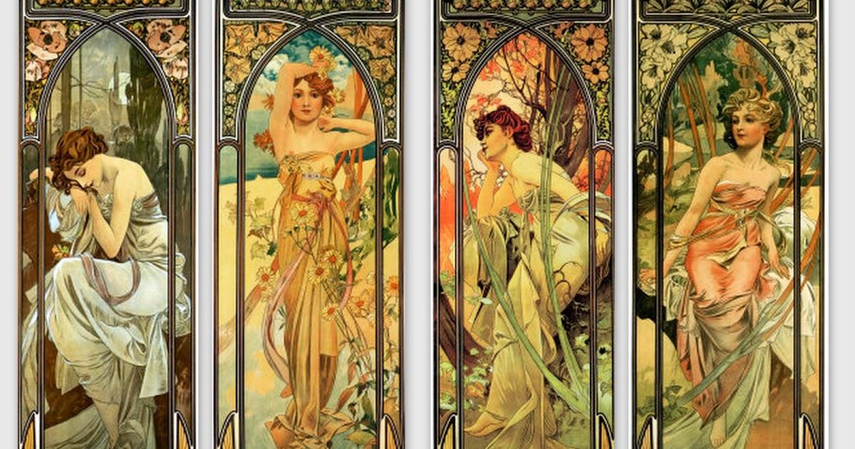 Images d 39 autrefois images femme art nouveau pour d coration for Autrefois decoration