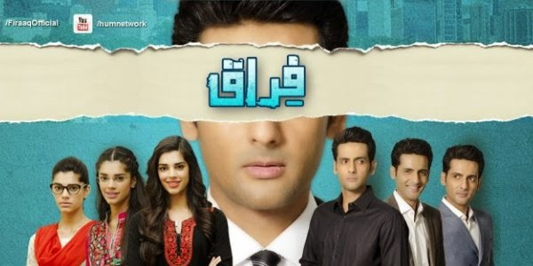 Firaaq Episode 8 on Hum Tv Drama 25th October 2014