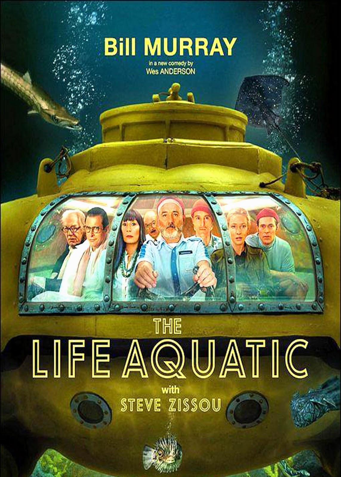 La vida acuatica (2004) Comedia