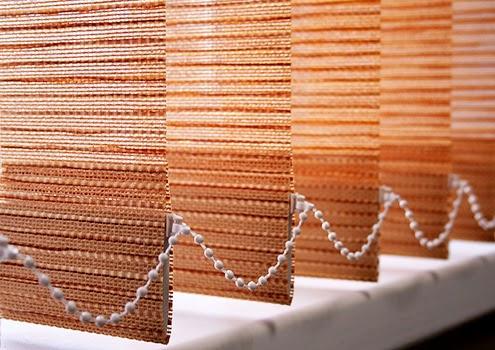 天然纖維材質直立簾