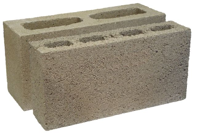K block for Foam forms for concrete