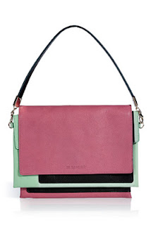 Jill Sander Candy Mint Clutch