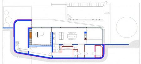 Arquitectura sostenible residencia en for Sistemas de ahorro de agua