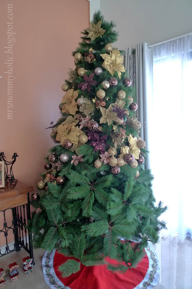 Mrsmommyholic photo of the day oh christmas tree Christmas tree decorating ideas philippines