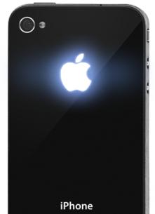 custodia iphone 4s che si illumina