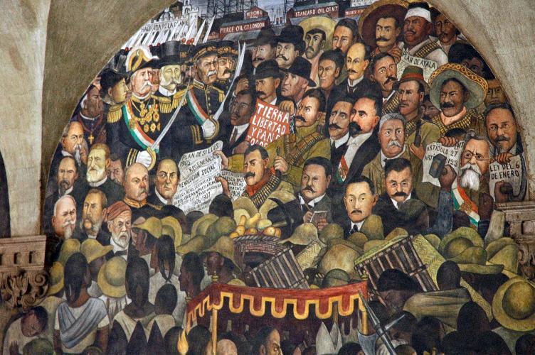 Historia educaci n y letras movimiento precursor de la for Arte mural en mexico