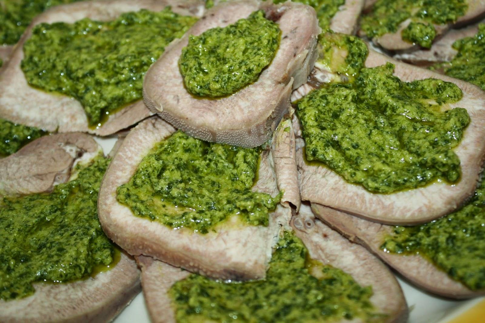 lingua salsa verde ricetta piemontese