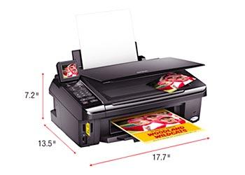 Epson NX515 Reset Ink