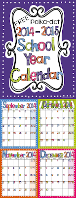 Light Bulbs and Laughter FREE Calendar on Teachers Pay Teachers