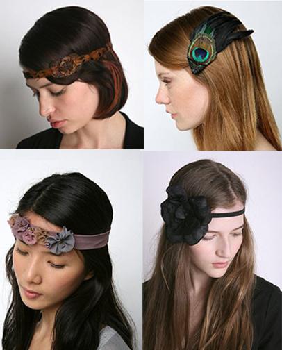 Magic Rose Ice Cream: Glamorous Headbands...