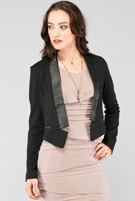 Cropped Tux Jacket