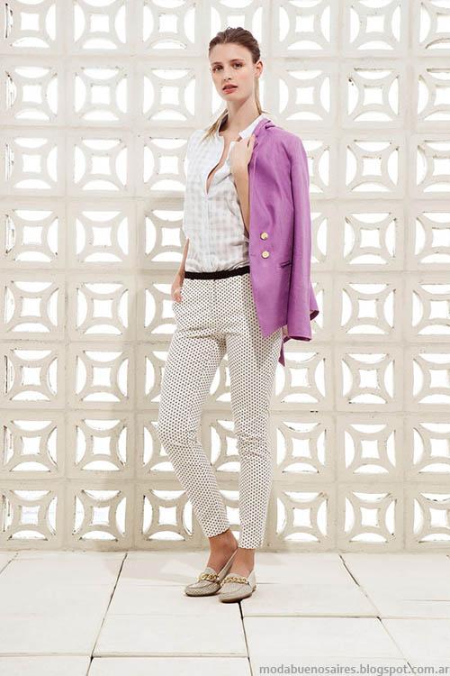 Looks urbanos, estilo casual chic, moda primavera verano 2015 en la colección Clara.