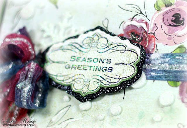 heat embossing with Stampendous embossing powders