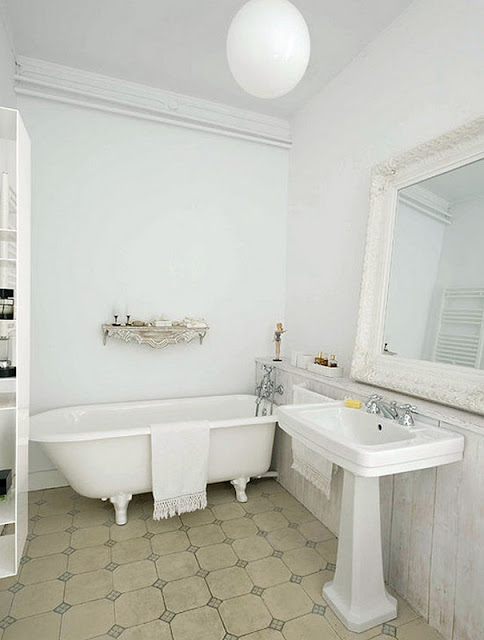 Ванная комната в апартаментах, расположенных в Барселоне