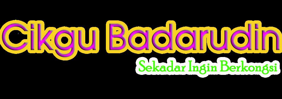 Cikgu Badarudin