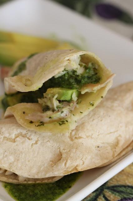 Chimichurri Chicken Tacos   Tortillas and Honey