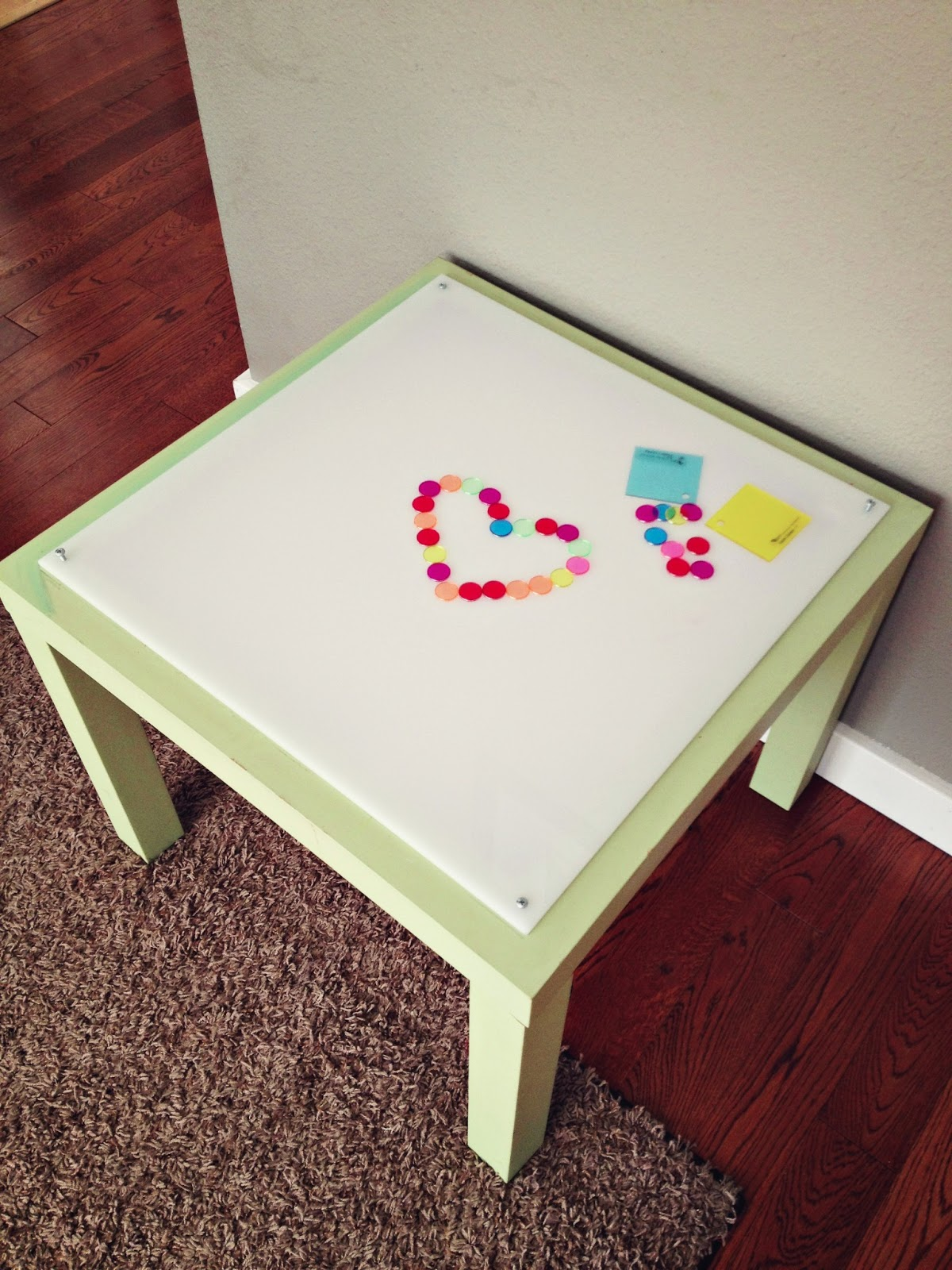 diy light table ikea lack hack. Black Bedroom Furniture Sets. Home Design Ideas
