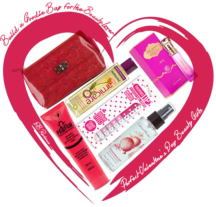 Valentines Day 2016  Build a Goodie Bag for the Beauty Lover